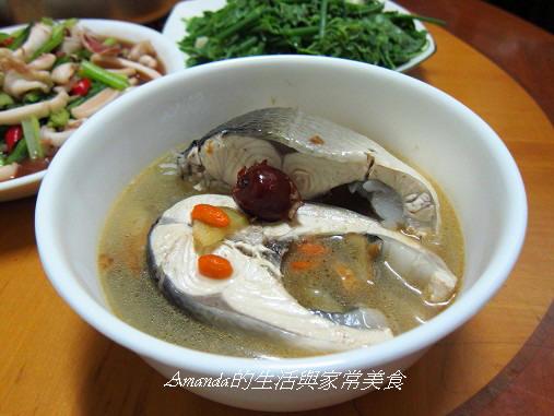 麻油老薑鮮魚湯