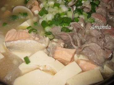味噌魚片鍋