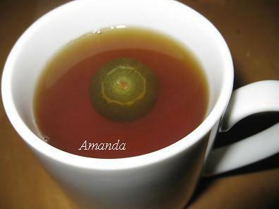 金桔熱紅茶