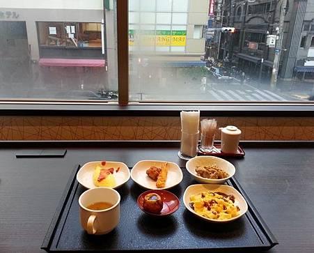 大阪難波Dormy Inn Premium Namba 早餐一景