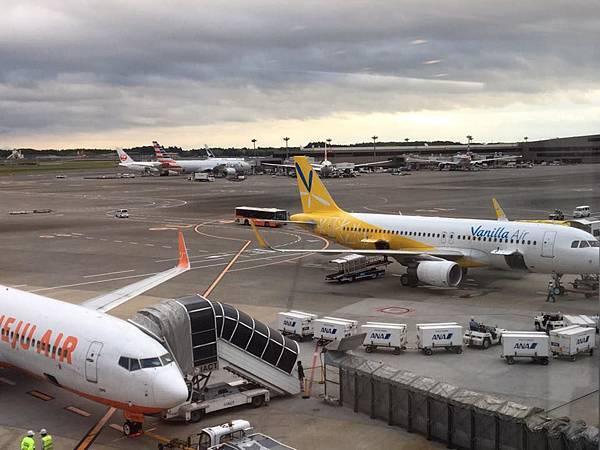 日本東京廉價航空初體驗 香草航空