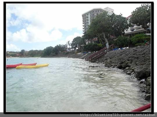 關島《希爾頓飯店Hilton Guam Resort & Spa》海灘 6.jpg
