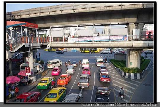 泰國曼谷《曼谷街頭一景》.jpg