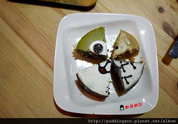 [食記]台北中山國中站 初米咖啡 Choose me Cafe&Meals(錦州店) 超可愛龍貓蛋糕 大眼仔蛋糕 無候位客人不限時喔~