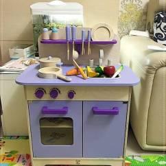 Hape Kitchen Black Appliances 育兒玩具 超可愛 超生火的hape愛傑卡大型廚具台 薰衣草紫色 開箱心得 竹亭聽雨 痞客邦