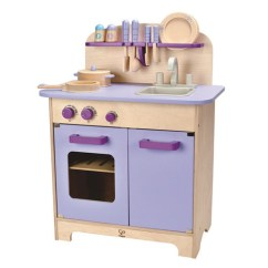 Hape Kitchen Nightmare Before Christmas 育兒玩具 超可愛 超生火的hape愛傑卡大型廚具台 薰衣草紫色 開箱心得 造型可愛 配色夢幻但價格嚇死人的mother Garden野草莓廚房組