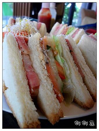 三明治近拍