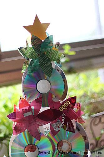 環保聖誕樹創作 @ 夏天家~親子.旅遊.美食分享 :: 痞客邦