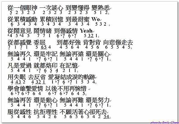 中音直笛譜之林俊傑 浪漫血液 @ 晴寶貝的甜蜜心事 :: 痞客邦