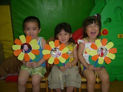 母親節美勞遊戲之一~花朵相框 @ 感動+分享+快樂 我愛小孩 臺中市北屯區保母黃老師 :: 痞客邦