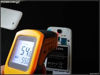 手機過熱54.8
