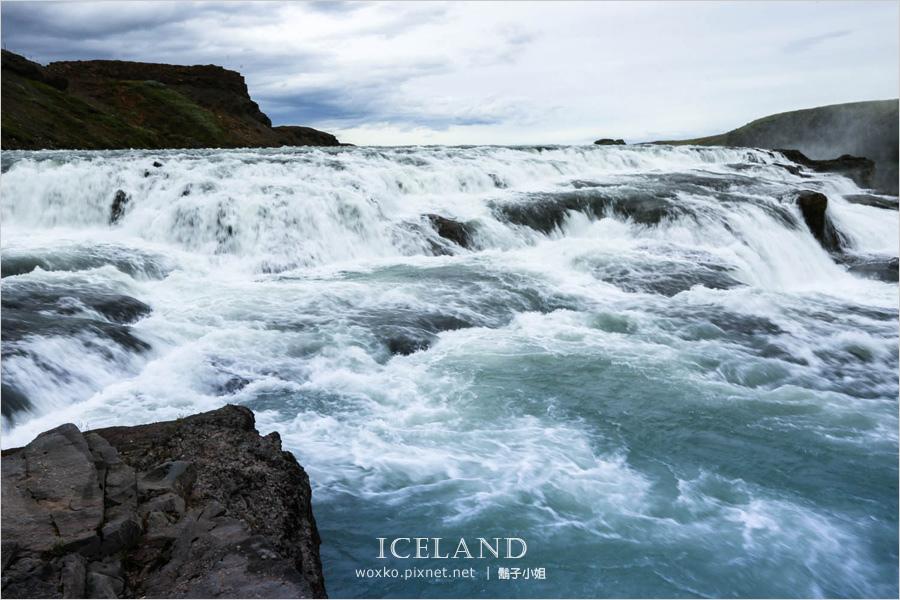 [冰島自助 Day2 (下) ] 冰島縮影 Golden Circle 金圈之旅.Gullfoss 黃金瀑布 + Skalholt Church 史卡哈特教堂