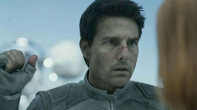 Tom Cruise is Jack again and he is confused about what is happening, and that's the good part.