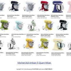 Kitchen Aid 5 Qt Mixer Decoration Ideas Ys美國代購 Kitchenaid Ksm150 Artisan Stand Quart 5qt Mixers 桌上型攪拌機 Ksm150ps