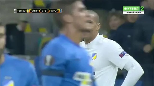 Астана 2 1 АПОЕЛ Голы смотреть онлайн видео от Леонид