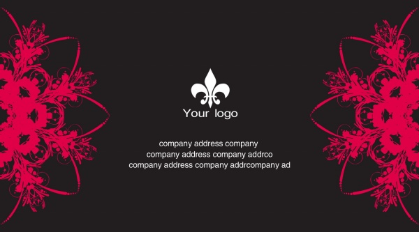 Fashion Personality Business Card PSD Templates Free