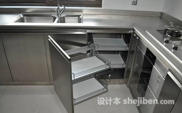 kitchen cabinates sink base cabinets 不锈钢厨柜多少钱一米不锈钢厨柜价格介绍 设计本资讯网