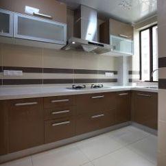 Kitchen Cabinet Color Bar Table 厨房厨柜颜色装修效果图 设计本 现代风格厨房厨柜装修效果图