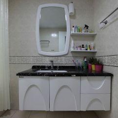 Kitchen Showrooms 36 Round Table Set 现代简约风格三居室卫生间洗漱台设计 – 设计本装修效果图