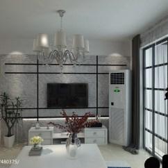 Kitchen Showrooms Small Sets 现代客厅电视背景墙壁布效果图 – 设计本装修效果图