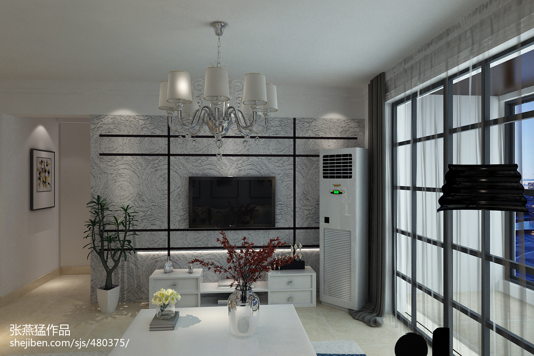 kitchen showrooms how to build your own cabinets 现代客厅电视背景墙壁布效果图 – 设计本装修效果图