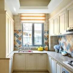 Tuscany Kitchen Faucet Oak Islands 托斯卡纳风格装修 设计本 托斯卡纳混搭厨房装修图片
