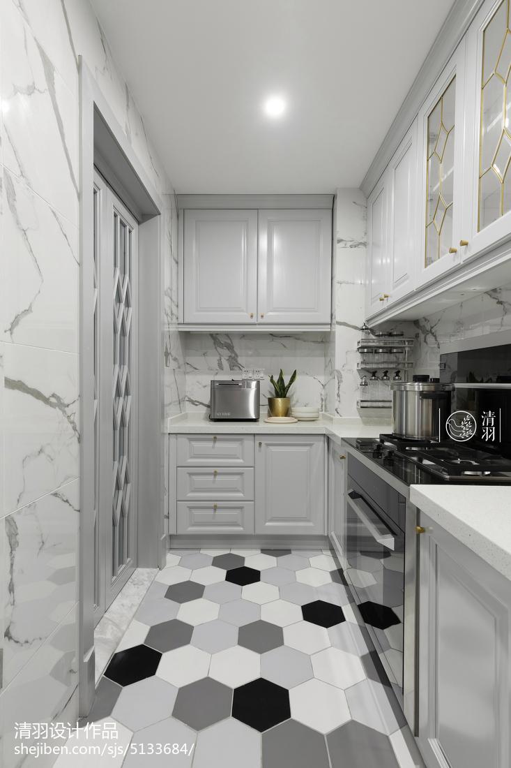 kitchen floor tile racks ikea 北欧风格四居厨房地砖设计图 设计本装修效果图