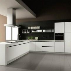 Kitchen Cabinets Prices French Country Decor 台州温岭/整体厨柜/烤漆门板橱柜/ 纯白色免拉手-设计本逛商品