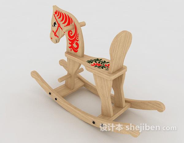 木馬玩具3d模型下載-設計本3D模型下載