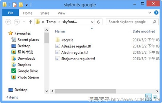 以 SkyFonts 下載、同步 Google Fonts 字型到 Windows、Mac skyfonts-06