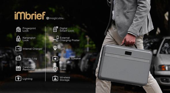 來自 MIT,專為行動上班族打造的科技硬殼公事包 iMbrief 展開全球募資 image