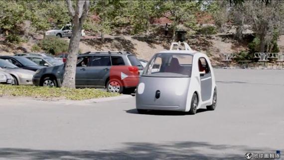 [早安! 地球] 沒方向盤也能開車! Google新型自動駕駛車登場 d355386e8efc3094_6