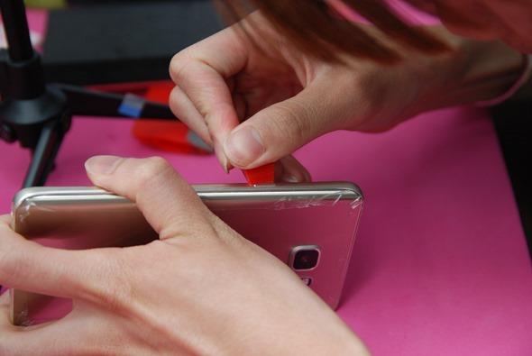 [手機包膜] Samsung Galaxy Note 5 保護貼摩斯密碼全機包膜全紀錄 DSC_0101