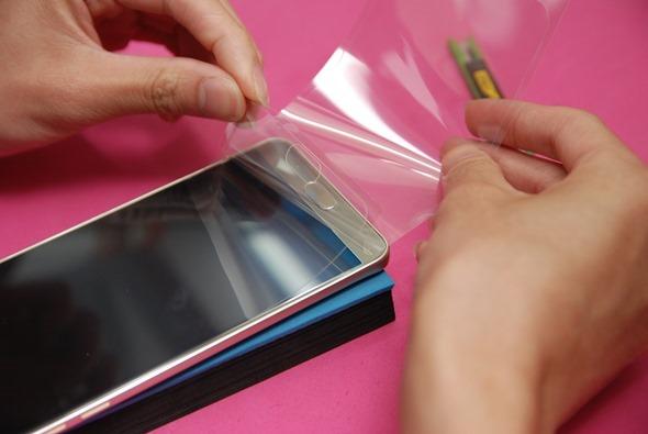 [手機包膜] Samsung Galaxy Note 5 保護貼摩斯密碼全機包膜全紀錄 DSC_0142
