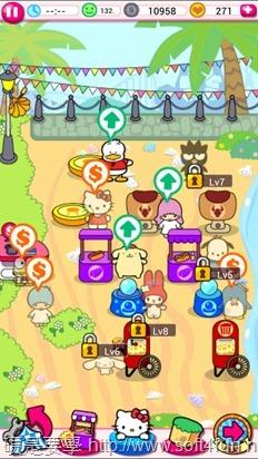 「Hello Kitty 嘉年華會」殺時間的有趣小遊戲(Android/iOS) Kitty-6