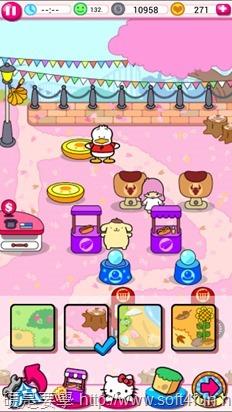 「Hello Kitty 嘉年華會」殺時間的有趣小遊戲(Android/iOS) Kitty-7