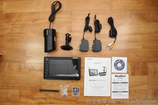 超簡易安裝無線監視錄影機 SecuFirst DWS-B011(具防水、夜視功能) dws-b001-011