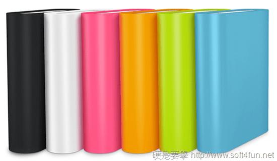 小米行動電源-產品顏色