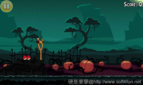 [Android遊戲] 憤怒鳥萬聖節版,有新的「橘鳥」唷~Halloween! _-07