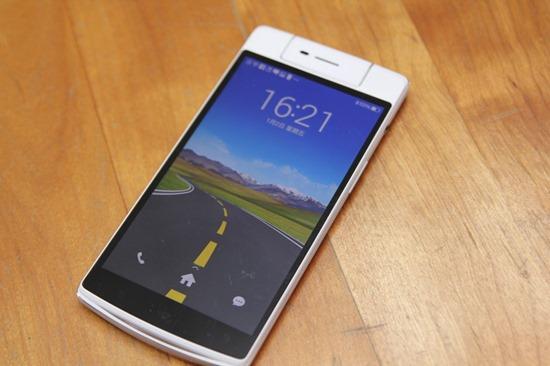 OPPO N3 翻轉鏡頭自拍神機+R5超薄手機開箱評測 OPPON3R530