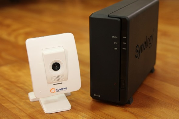 超值雲端監控組合:Synology DS115j+Compro TN65 網路攝影機 synologycompro01