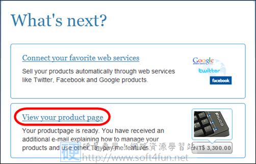 部落格變身網拍賣場,網路行銷 So Easy tinypay06
