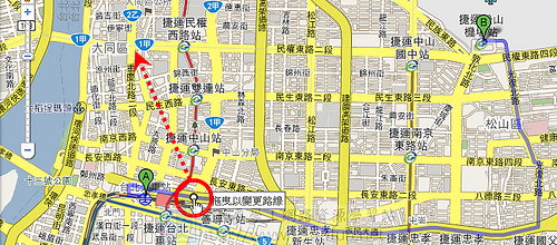 讓 Google 地圖幫您規劃旅行路線 3976637211_fd6833cfaa