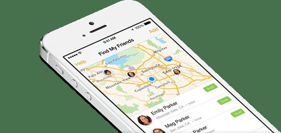 ios 8 新功能-家人共享-位置共享