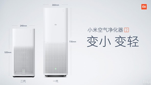 新一代小米空氣淨化器2發布,更小、更輕、更省電 151316p3waq22a5iccgcqz