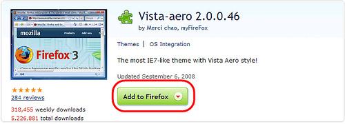 [瀏覽相關] 究極偽裝術:Firefox 3 變身 IE 7 2866178252_578926d473