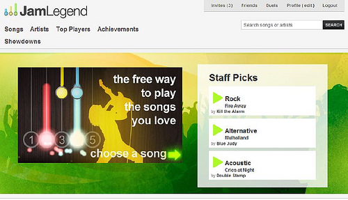 [好玩遊戲] 超酷線上版吉他英雄(Guitar Hero),用力玩轉你的鍵盤吧! 2887399155_9830652fb4