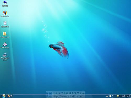 [桌面相關] 電腦等級不夠無法安裝 Windows 7,換個仿  Windows 7 的佈景過乾癮 3505180756_d02b566cca
