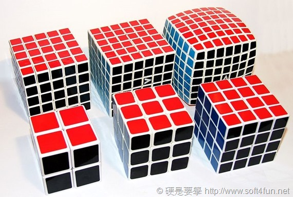 800px-Rubik's_cube,_variations_2×2×2_-_7×7×7