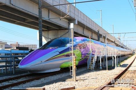 500 TYPE EVA 彩繪列車11/7發動!驚人內裝先睹為快 5625cc171d637